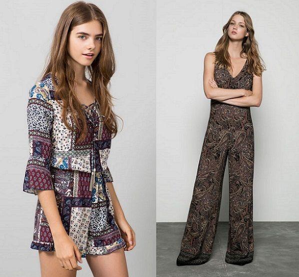 Bershka vestidos avance otoño 2015  nuevas propuestas . 34488f52138
