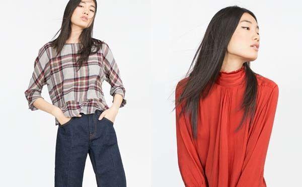 Blusas-camisas y tops para mujer Invierno 2015 | demujer moda