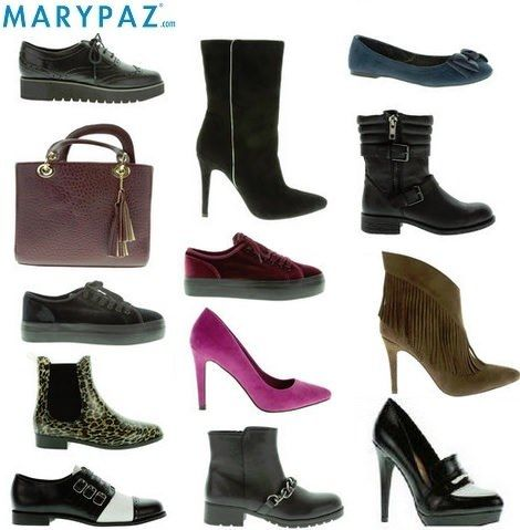 Negros Zapatos De Tacon Ancho Marypaz w1afZwqUv fec25b81dba4
