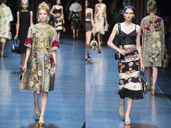68df362dc4 Nueva colección Dolce & Gabbana primavera verano 2016 .