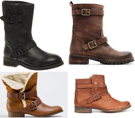37473ad20 Botas moteras . Escrito el 29 10 2011 Zapatos-botines y sandalias de moda  Otoño-Invierno 2015 2016