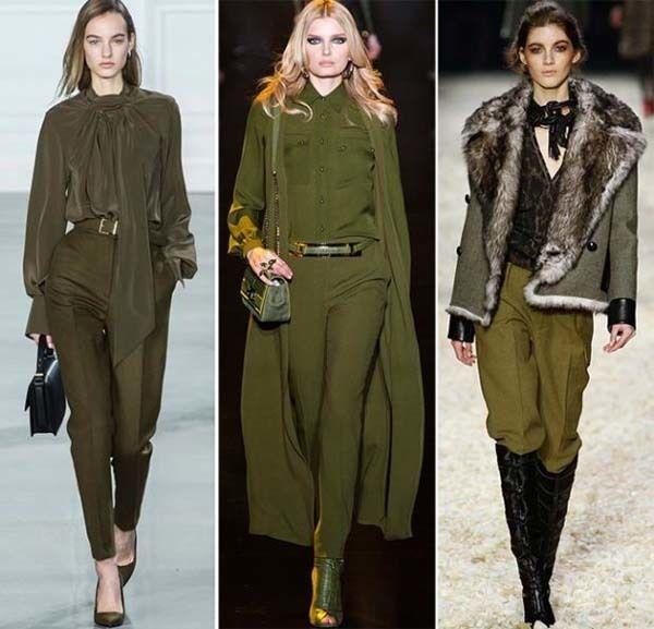 Tendencias  Los colores de moda para el otoño invierno 15 16 . 9b25c527053d
