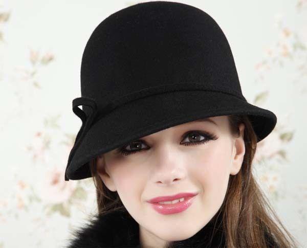 Gorros y sombreros de mujer para la temporada de otoño-invierno . af8bead4251