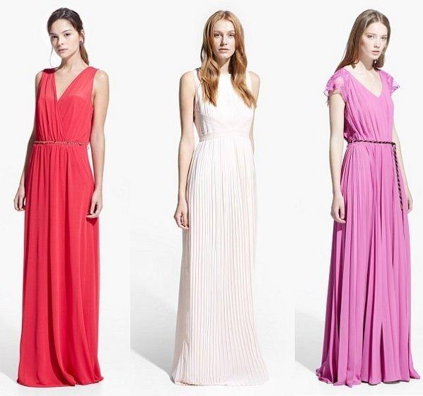 Moda vestidos fiesta 2015