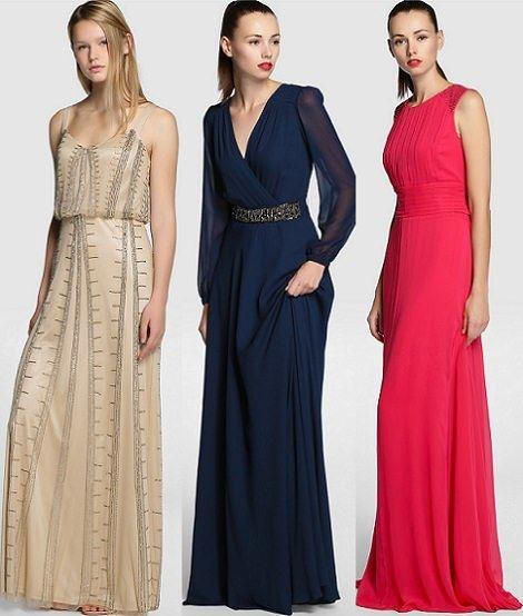 9e4730a78 Vestidos de fiesta de Tintoretto Otoño Invierno 2014 2015 .
