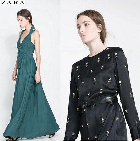 Precios de vestidos de fiesta de zara