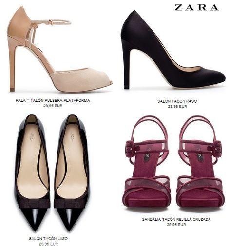 8381d0bc Zapatos Zara mujer: sandalias y botines Otoño/Invierno 2015 ...