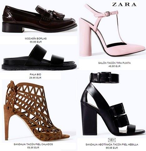 8172c357 Zapatos Zara mujer: sandalias y botines Otoño/Invierno 2015 ...