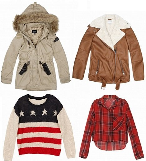 Este oto o 2013 consigue el estilo m s grunge gracias a la ropa de bershka demujer moda - La moda de otono ...