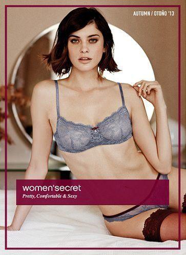 catálogo lencería women secret invierno 2014