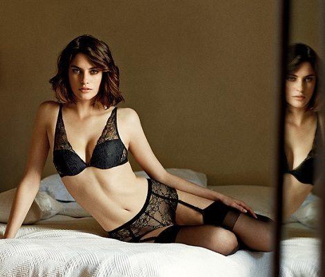 ropa interior women secret 2014 encaje negro
