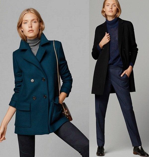 Massimo dutti mujer abrigo piel