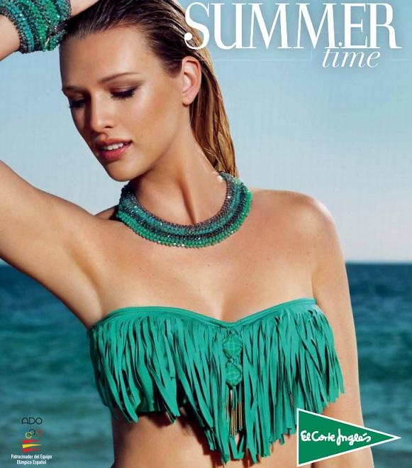 Catalogo De Bikinis El Corte Ingl S Summertime Verano 2015