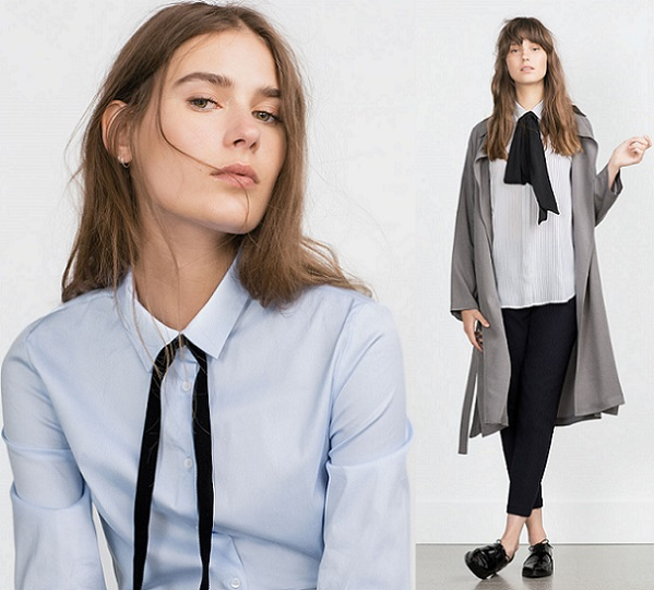 3f8aa17252ac Las blusas van a ser una de las prendas estrella esta temporada de otoño  según el nuevo catálogo de Zara. Pero