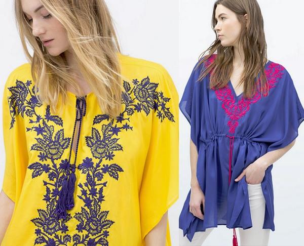 235ced8c04dd 5 Tendencias en blusas de Zara primavera verano 2015 | demujer moda