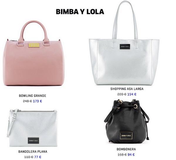 Bolsos Bimba y Lola de rebajas primavera verano 2015