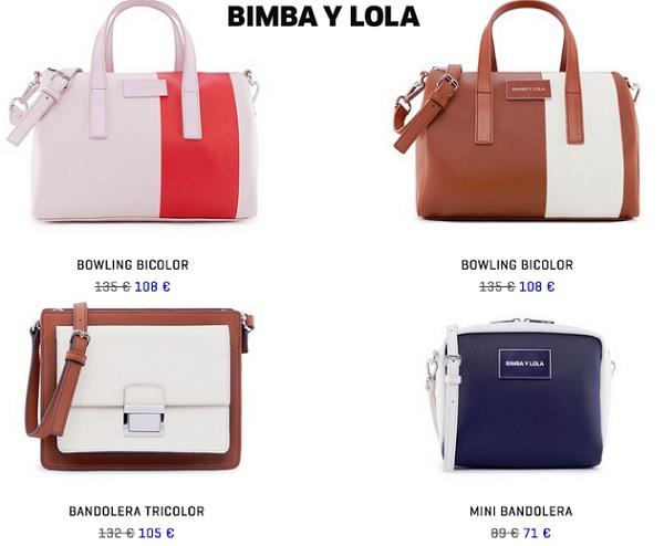 ac3ee6d07c4 Bolsos Bimba y Lola de rebajas primavera verano 2015