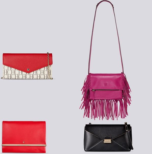colecciones de bolsos de Carolina Herrera y, como no podía ser de otra forma, el estilo boho, tendencia de esta primavera 2015 vuelve a inspirar los