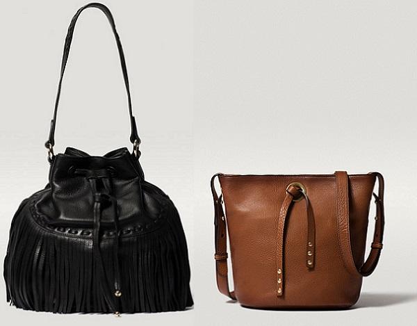 Se llevan especialmente los bolsos de estilo boho, por eso, no es de extrañar ver modelos de serraje, con hebillas o flecos, sin duda van a arrasar.