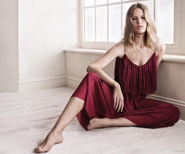 59f0ccd758ab La firma de moda española Mango nos presenta las primeras fotos de su  campaña primavera verano 2015 protagonizada por la modelo alemana Anna  Ewer s.