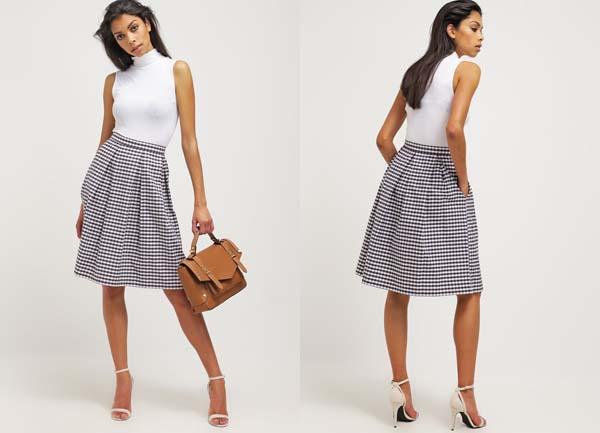 falda-checkered-para-el-verano
