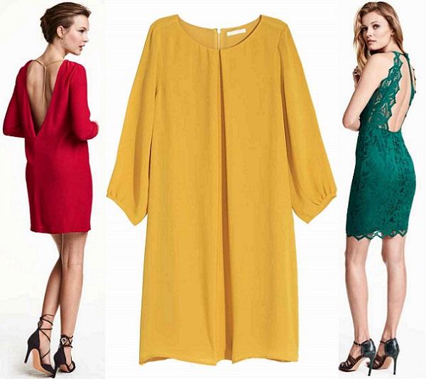 varios estilos como escoger estilo moderno H&M vestidos largos y cortos otoño 2015 | demujer moda