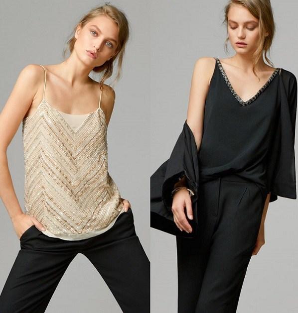 diseño elegante materiales de alta calidad muchas opciones de Massimo Dutti mujer: vestidos de fiesta para Nochevieja 2014 ...