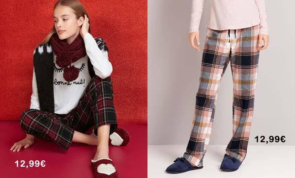 pantalones-de-cuadros-oysho