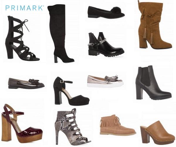 SelecciÓn Madera: Zapatos Primark Catálogo Otoño Invierno 2015 2016