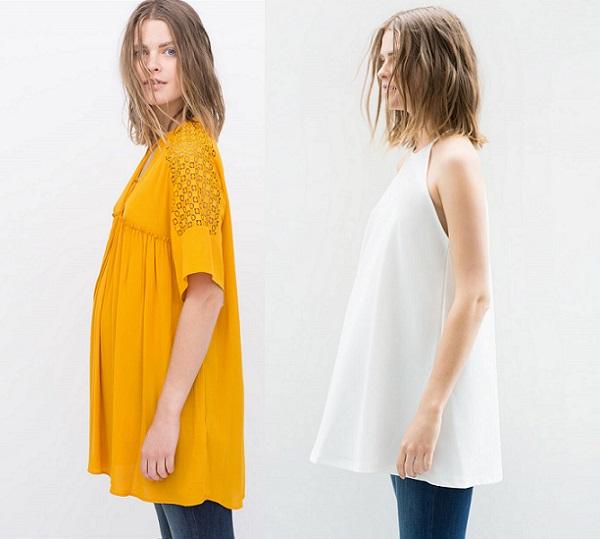 a0cd1e27b Hacerlo combinándolo con prendas anchas como chalecos o blusas  desabrochadas como estos que encontramos en Zara.