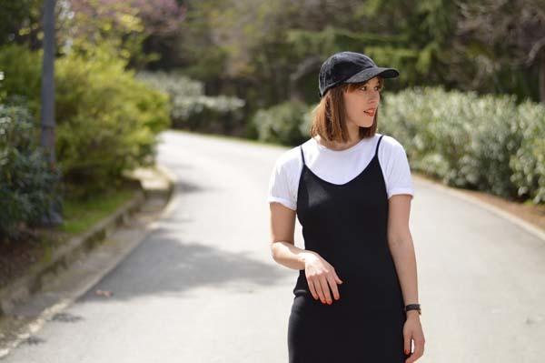 Slip Dress con camiseta