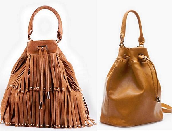 18de15bca12 En mi  wish list  para este otoño está un bolso saco como cualquiera de  estos dos modelos que nos presenta STR. Las bomboneras conseguirán aportar  a tu look ...