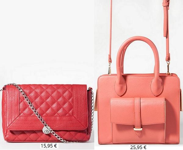 6e5b2e44f36 ... tenemos clones tan bien inspirados como esta bandolera acolchada al más  puro estilo Chanel (disponible en muchos colores) o este bolso rígido mini  que ...