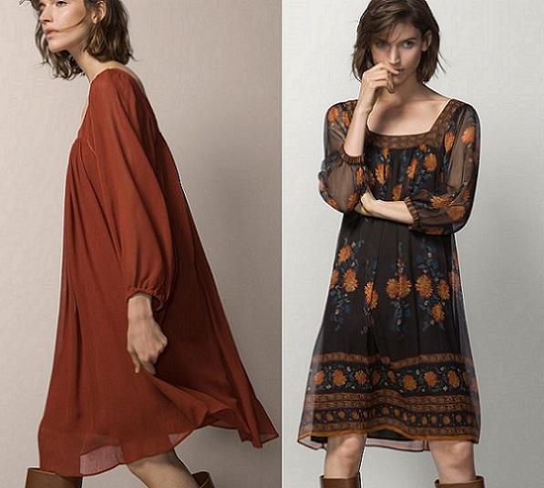 98244da6d El estilo más hippie (chic) llega a la nueva colección de vestidos de Massimo  Dutti para este 2015  transparencias