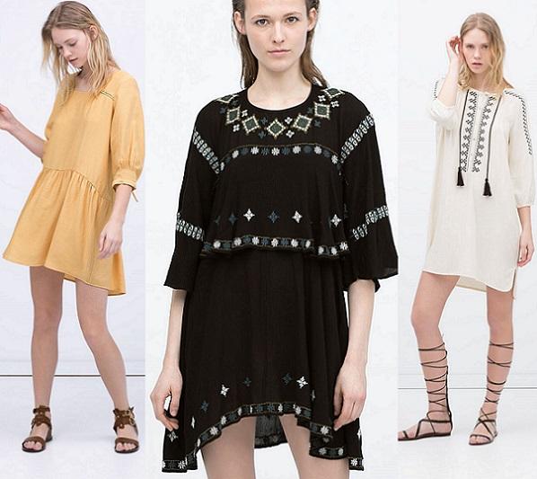 8cdea517 ¡Ya está aquí la nueva colección de vestidos de Zara para el verano 2015!  En su mayoría vestidos de estilo casual que vas a querer tener en tu  armario y que ...