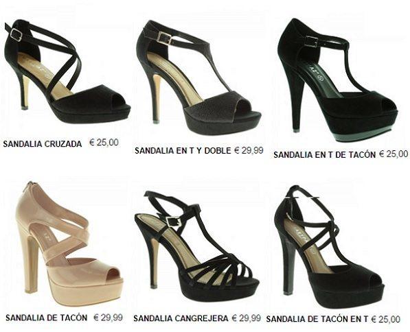 Zapatos Tacon Alto Marypaz