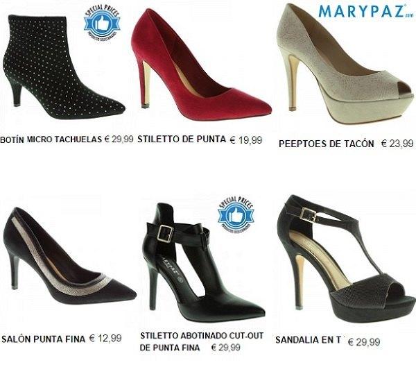 187549e858d Todavía no han llegado las rebajas de Marypaz de enero 2015 y ya tenemos un  montón de calzado con descuento